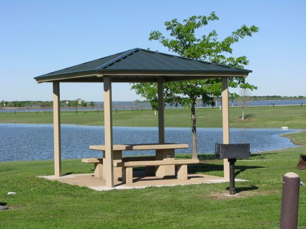 Picnic Shelter at Stewart Creek Park