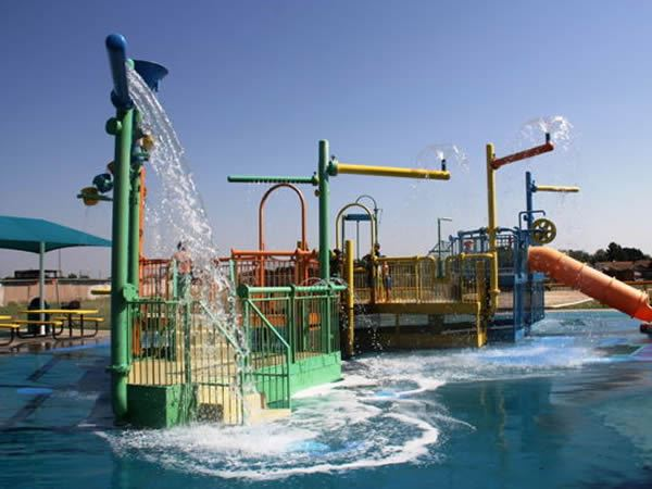 Splash Zone at the Aquatic Park