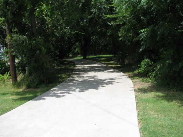 Trail Extension at Stewart Creek Park