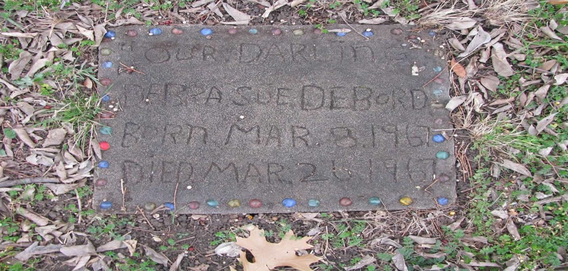 Oldest grave marker with scrawled engravings
